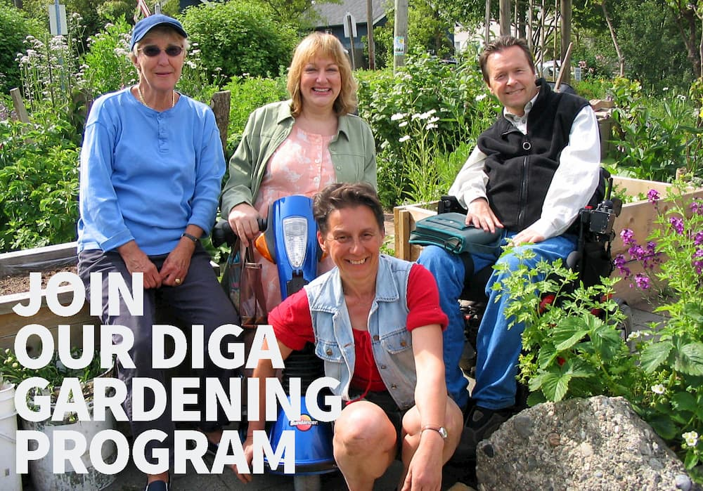 Join our DIGA Gardening Program